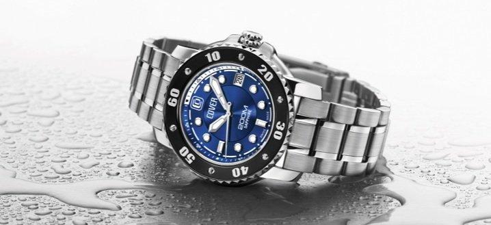 Водонепроникний наручний годинник